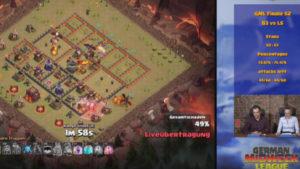 Live Streaming Clash of Clans - German Midweek Leauge Lookin Friday Videoproduktion Frankfurt