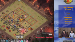 Live Streaming Clash of Clans - German Midweek Leauge Lookin Friday Videoproduktion Frankfurt